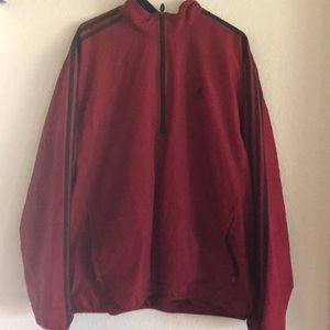 Men's quarter zip windbreaker